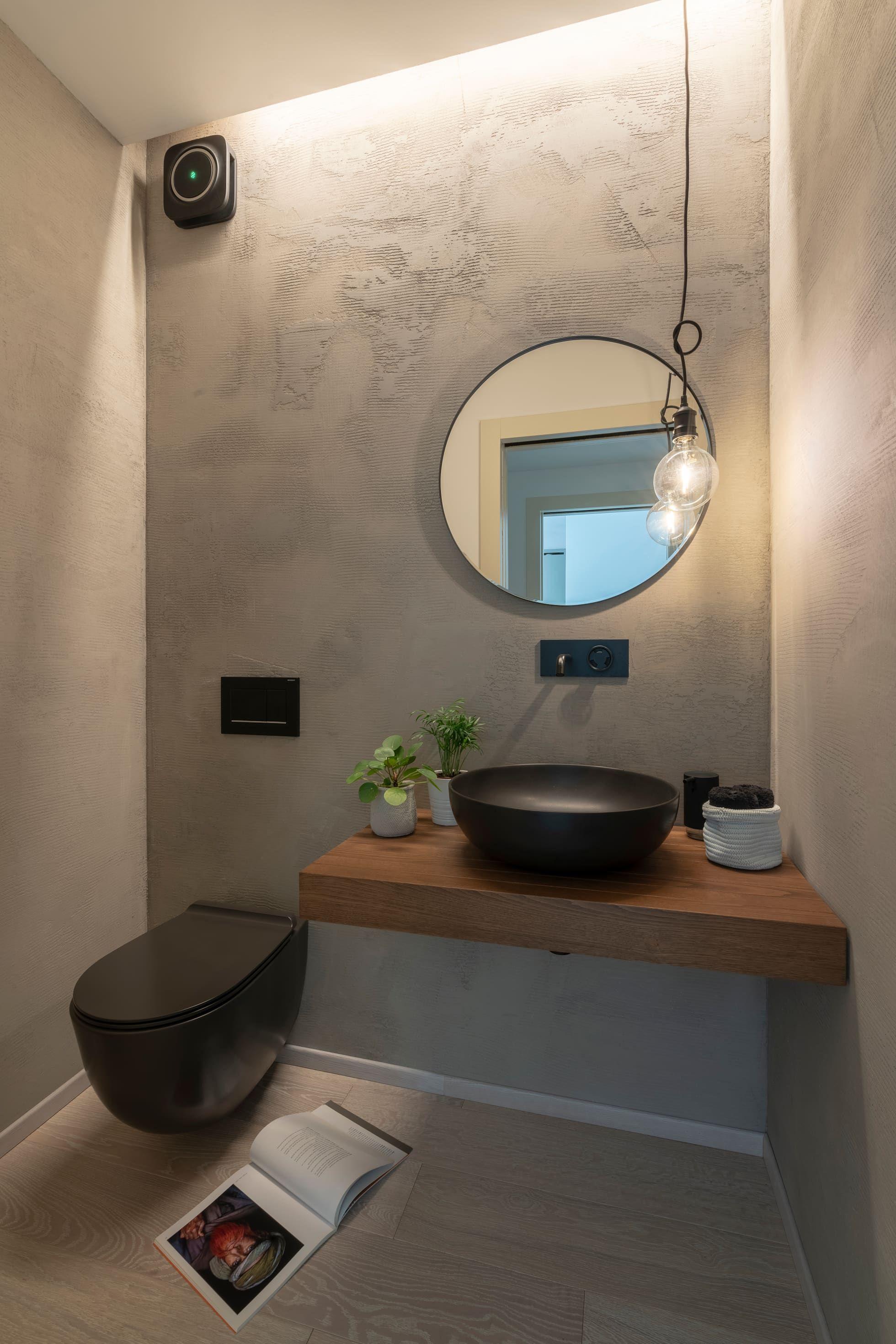 Bagno Per Gli Ospiti Bagno Moderno Di Cu Design Moderno Nel 2020