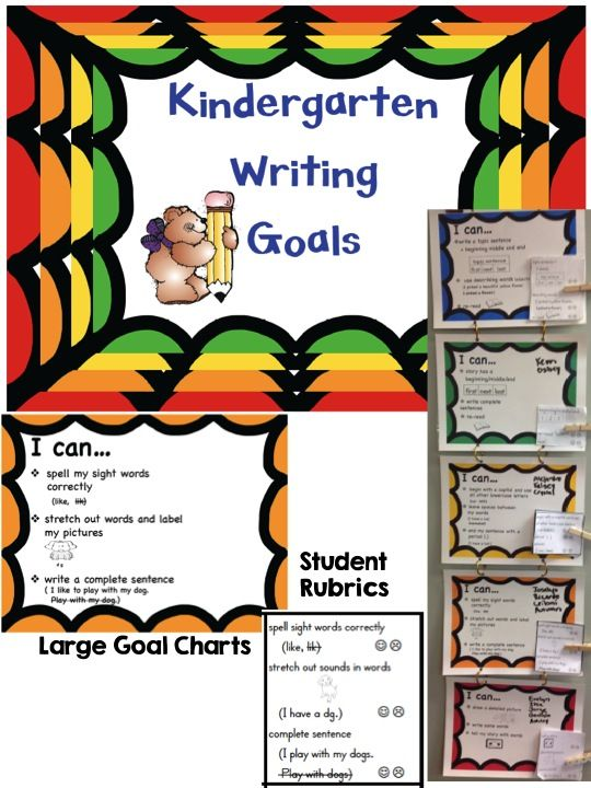 how to create a goal chart