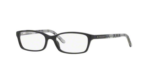dcc5271b6d BE2073  Shop Burberry Black Pillow Eyeglasses at LensCrafters