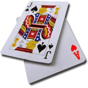 Games Black Jack With Candy As Betting Chips Cards Blackjack