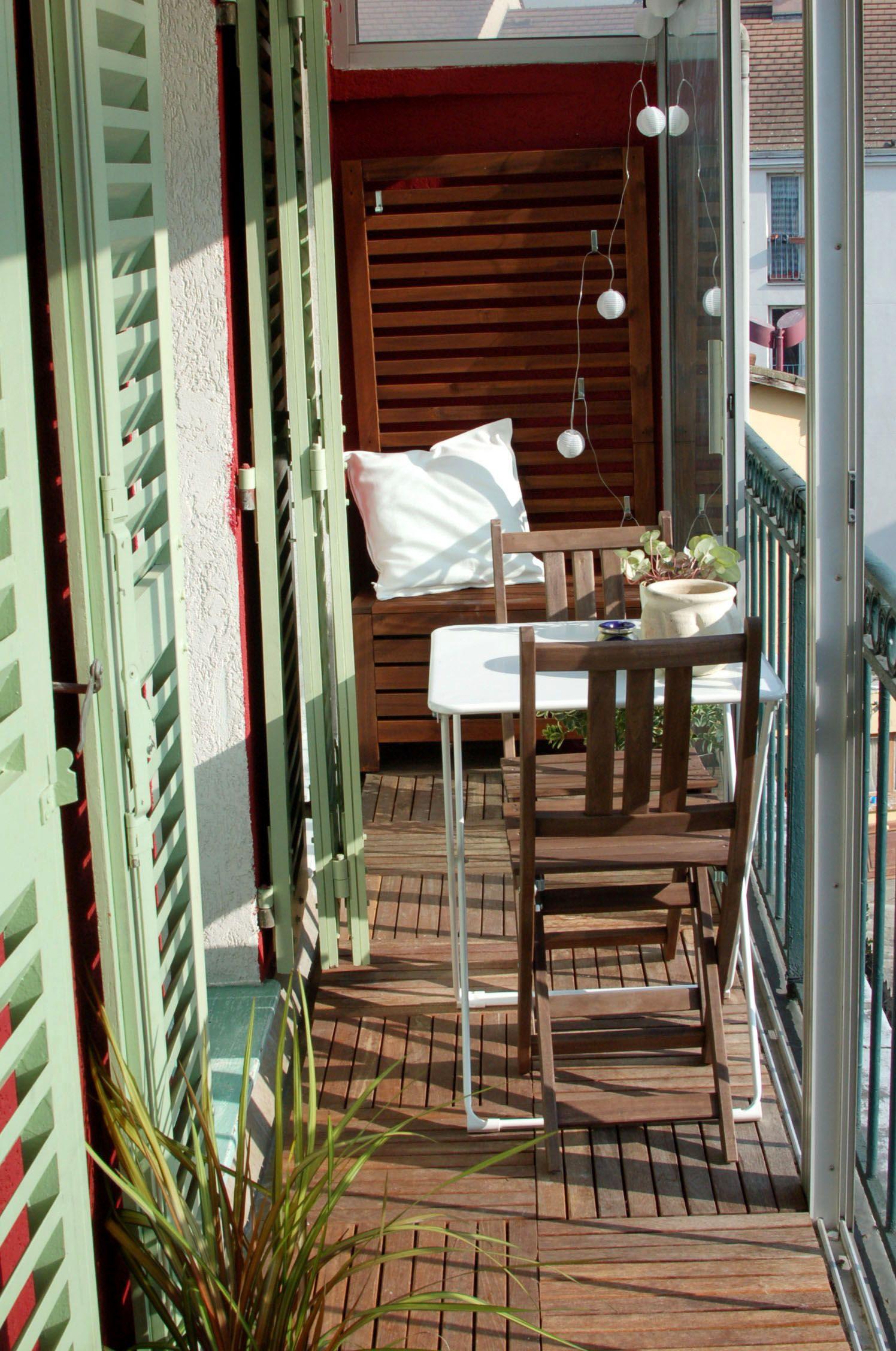 objetdeco amenagement balcon 2 au jardin sur la terrasse ou sur le balcon pinterest. Black Bedroom Furniture Sets. Home Design Ideas