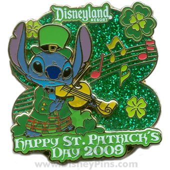 St Patrick's Day 2009 - Stitch