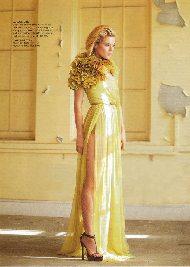 i want to wear this! wish i could pull it off!
