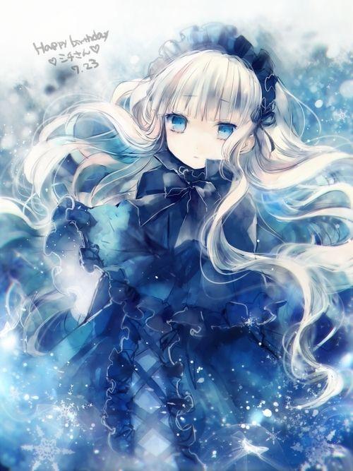 Kết quả hình ảnh cho Anime girl lạnh lùng