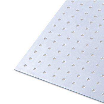 Tôle Perforée Aluminium Brut L100 X L60 Cm X Ep15 Mm