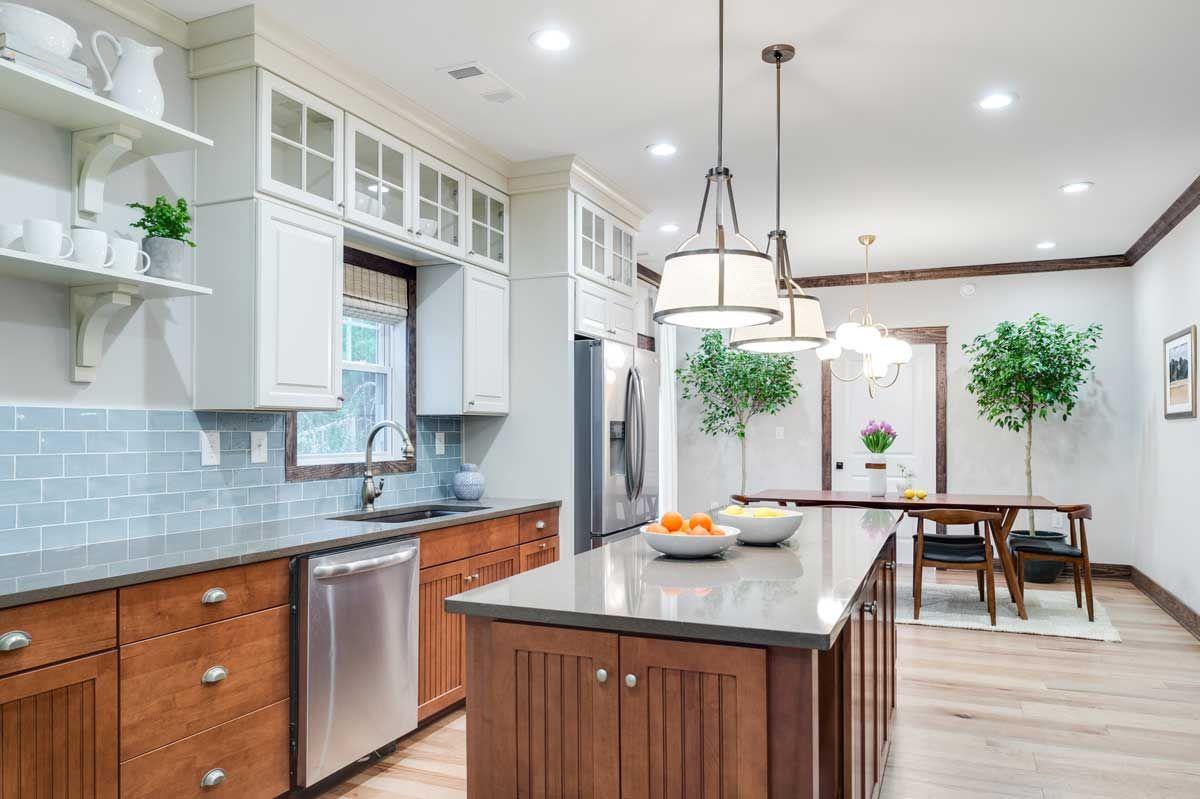Home Free - Season 2 - Episode 1 - Craftsman Style. Kitchen cabinets ...