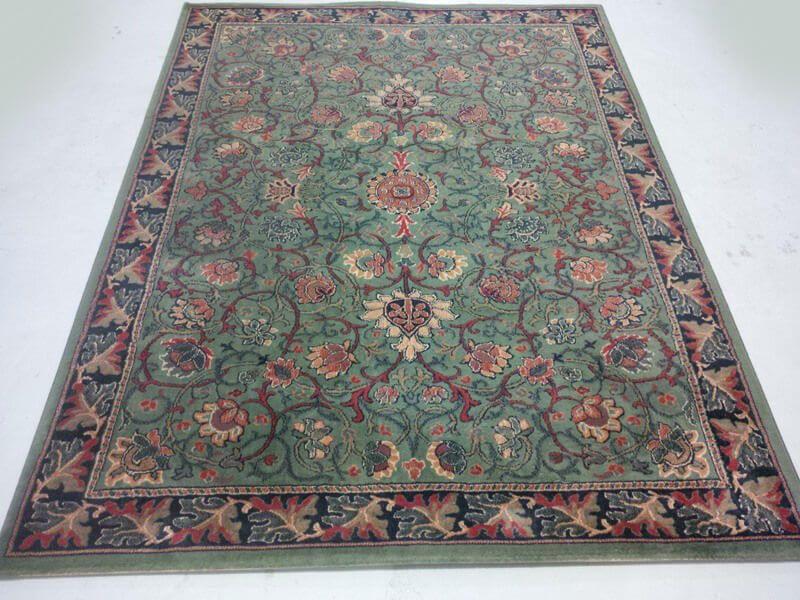Perzisch Tapijt Kopen : Oosters groen art deco tapijt cm in home