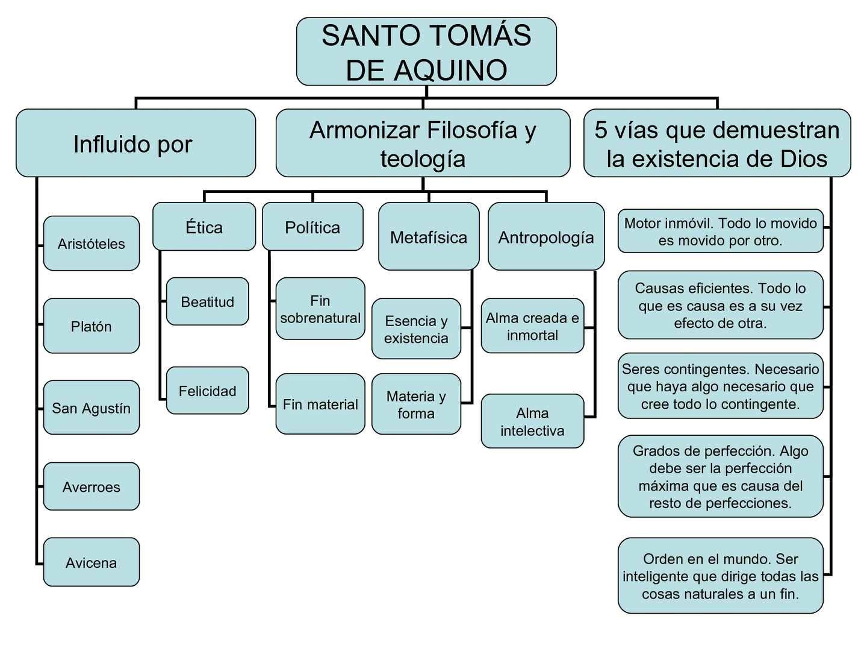 Resultado De Imagen De Mapa Conceptual De San Agustin Santo Tomas De Aquino Santo Tomas Mapa Conceptual