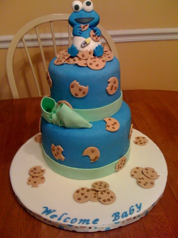 baby shower all my cakes pinterest baby showers cookie monster