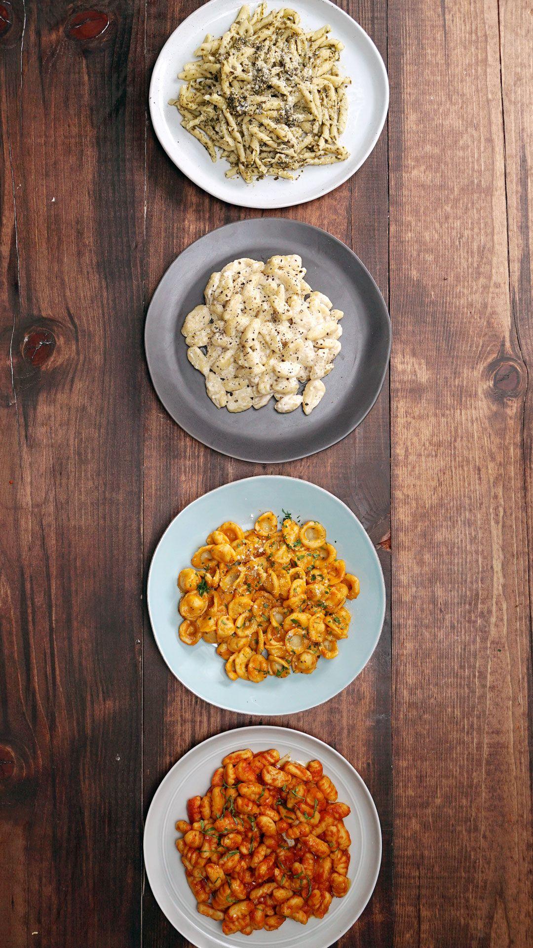 Photo of Basic Pasta – Shaping Pasta With 4 Common Kitchen Utensils
