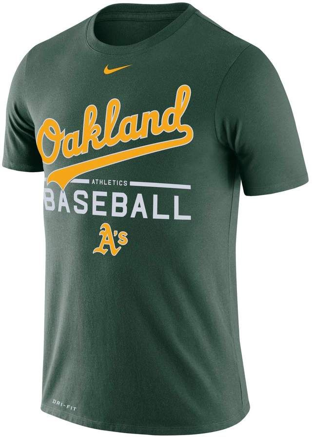 35a2626a2 Nike Men's Oakland Athletics Practice Tee in 2019 | A's | Nike men ...