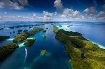 Desktop wallpaper // The Rock Islands of Palau. © Ian Shive