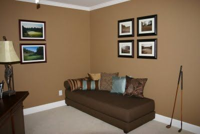 Tales Of A Golf Gal Fighting Sarcoma Redecorating Done Living Room Colors Brown Living Room Decor Paint Colors For Living Room