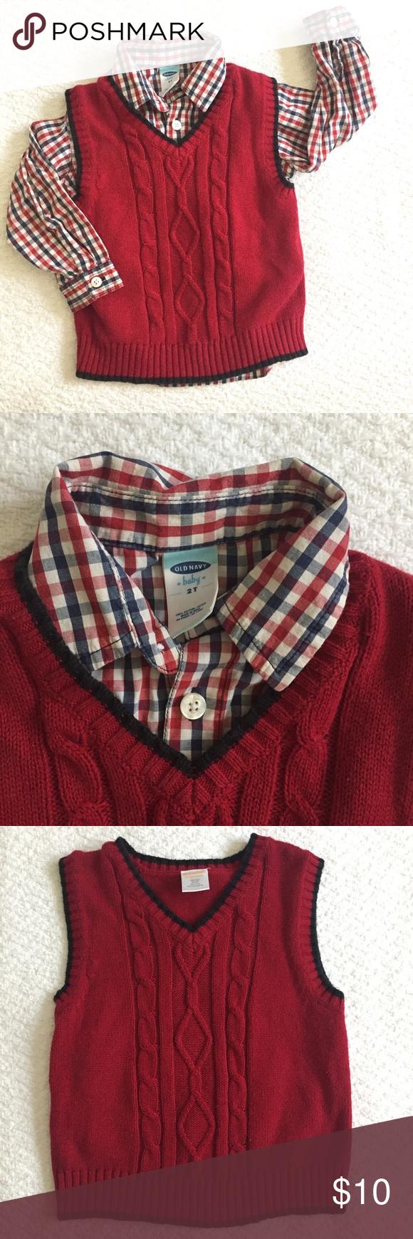Toddler Vest and Gingham Shirt Bundle | Gingham