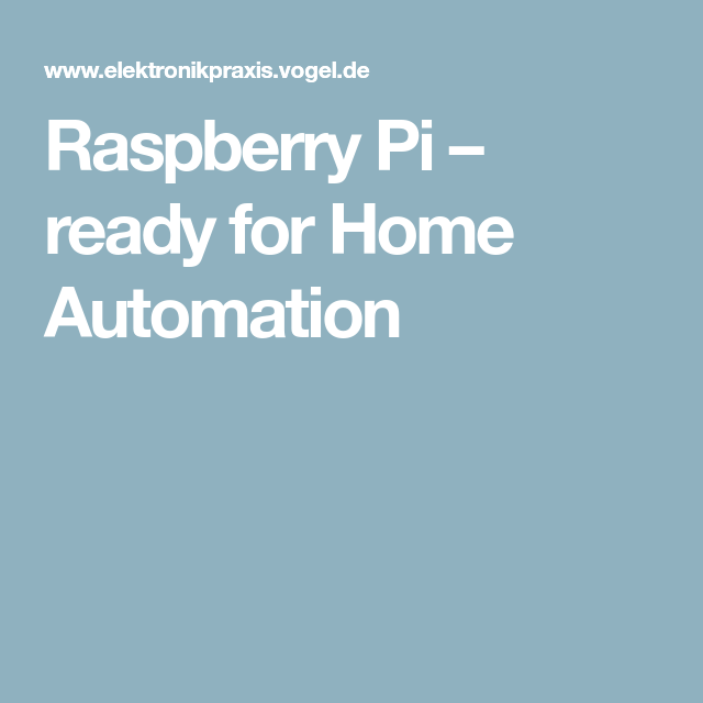 raspberry pi ready for home automation home automation ideas