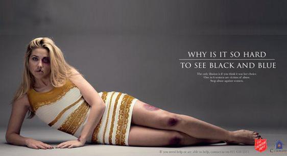 Le phénomène de la robe récupéré par l'Armée du Salut pour dénoncer les violences faites aux femmes   Vanity Fair