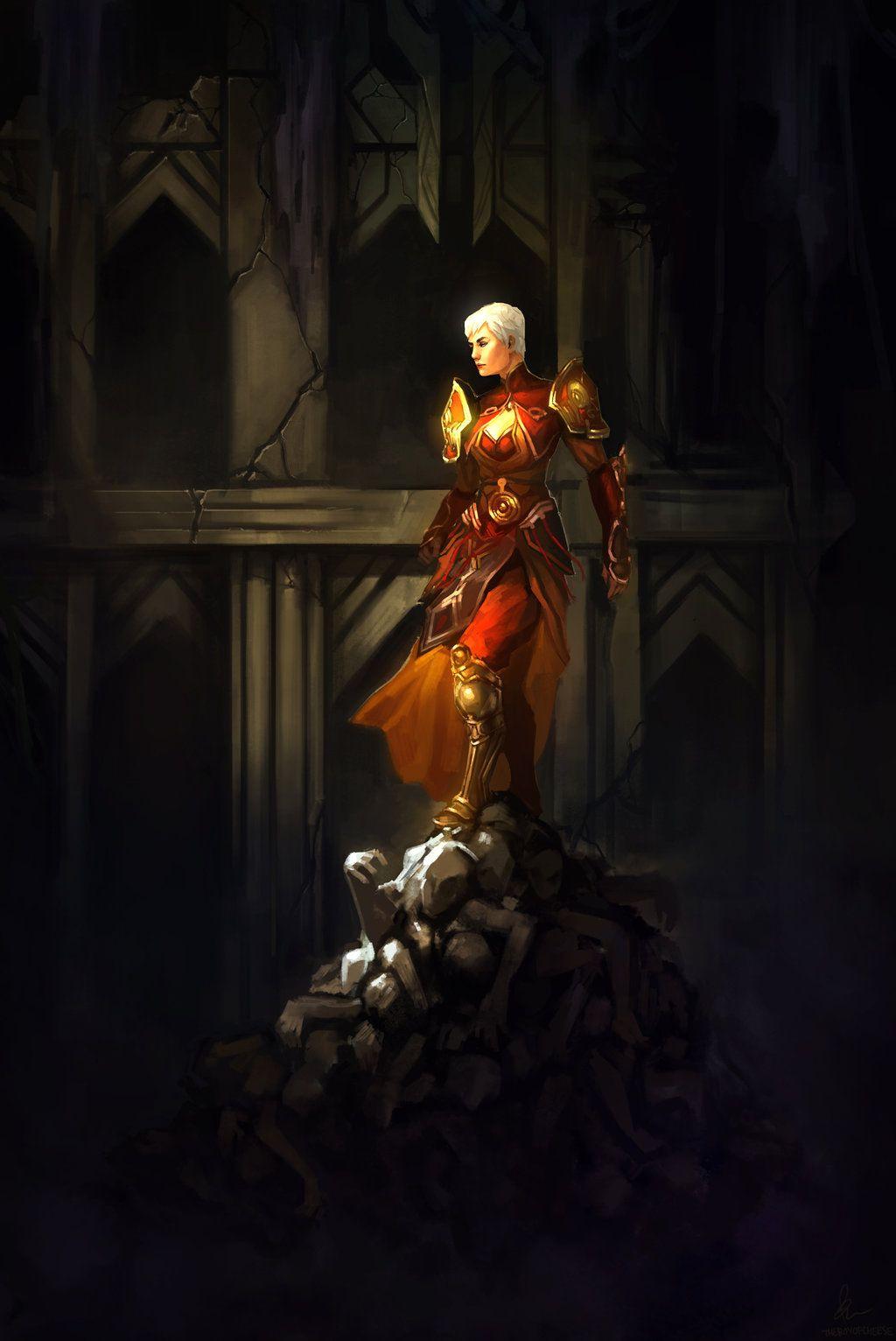 Monk Diablo 3 by TheBoyofCheese | fashion in 2019 | Diablo 3