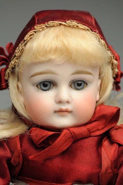 Lot # : 1 - Dainty Kestner Child Doll.