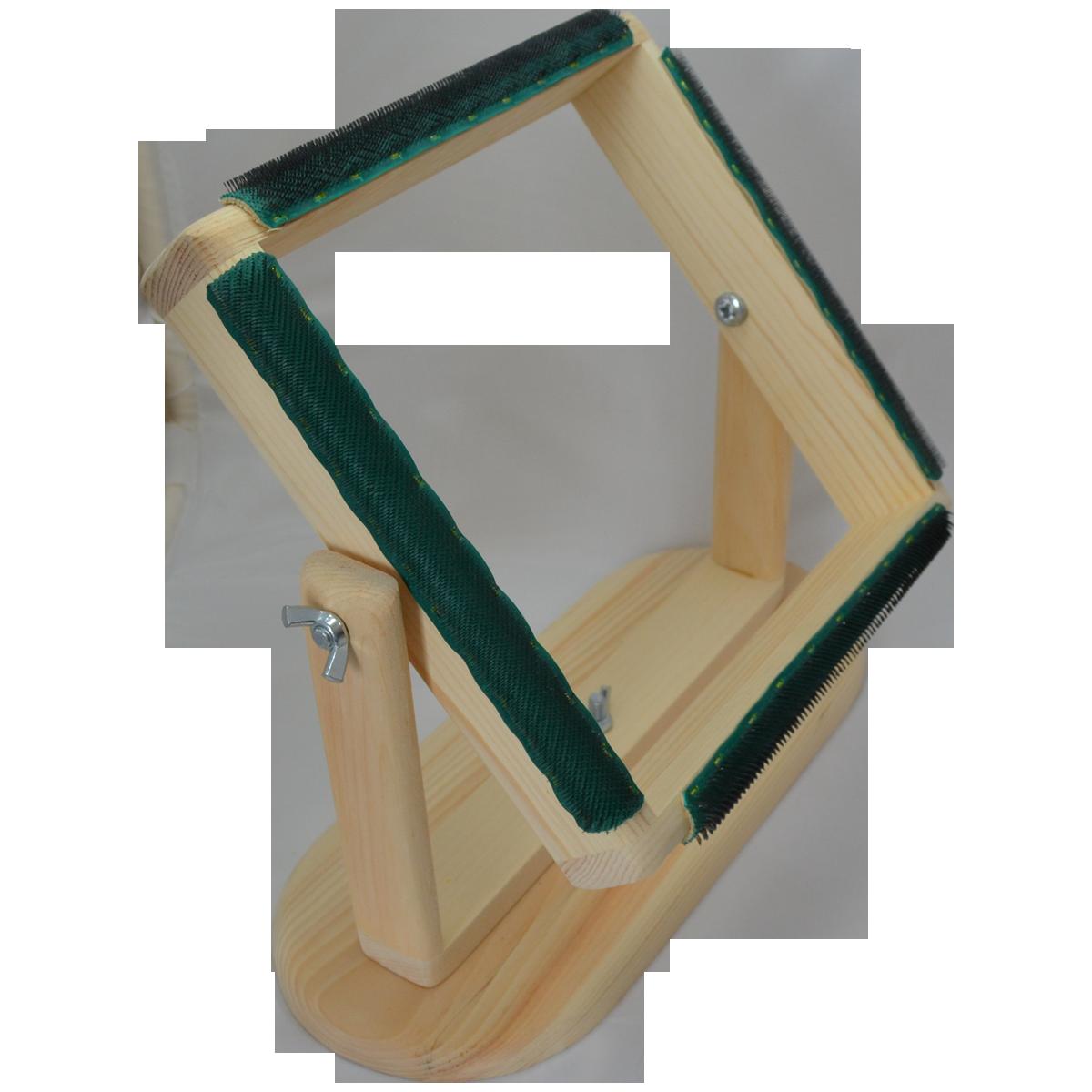 Rug Hooking Frame 12 X 12 Portable Affordable Great For Beginners And Travel Rug Hooking Frames Rug Hooking Hooked Rugs Primitive