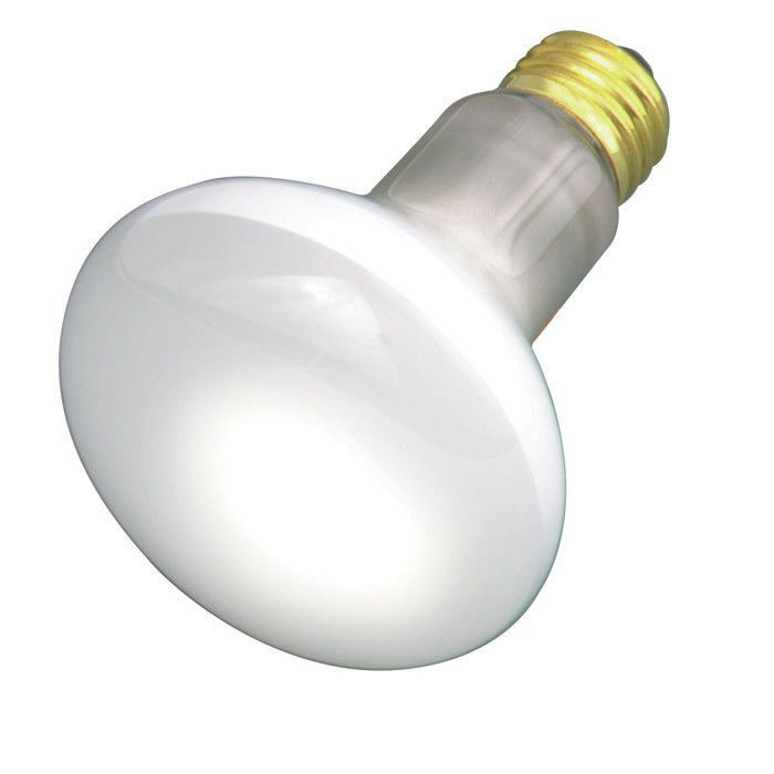 Satco S2810 30W 130V R20 Frosted E26 Medium Base Incandescent light bulb