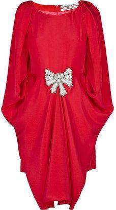 c5926d56afae3 ShopStyle: Pierre Cardin for Paul & Joe Methane embellished silk dress