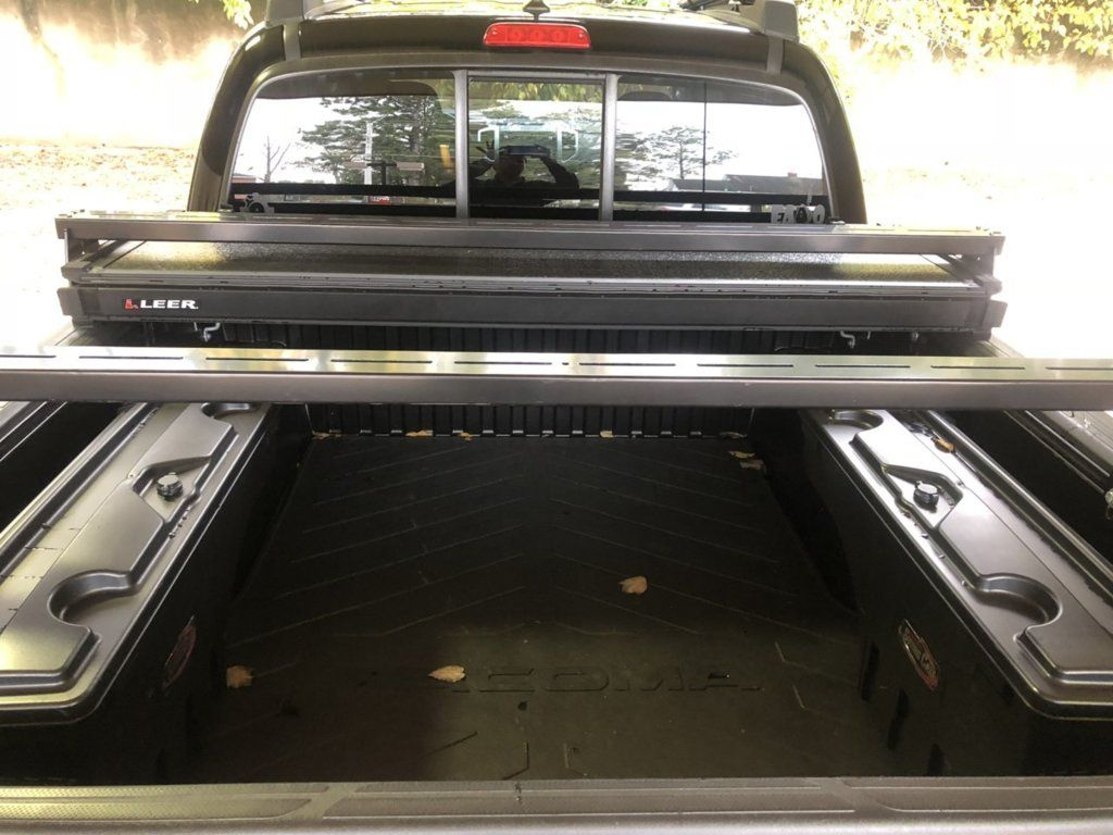 Tonneau Cover With Racks in 2020 Tonneau cover