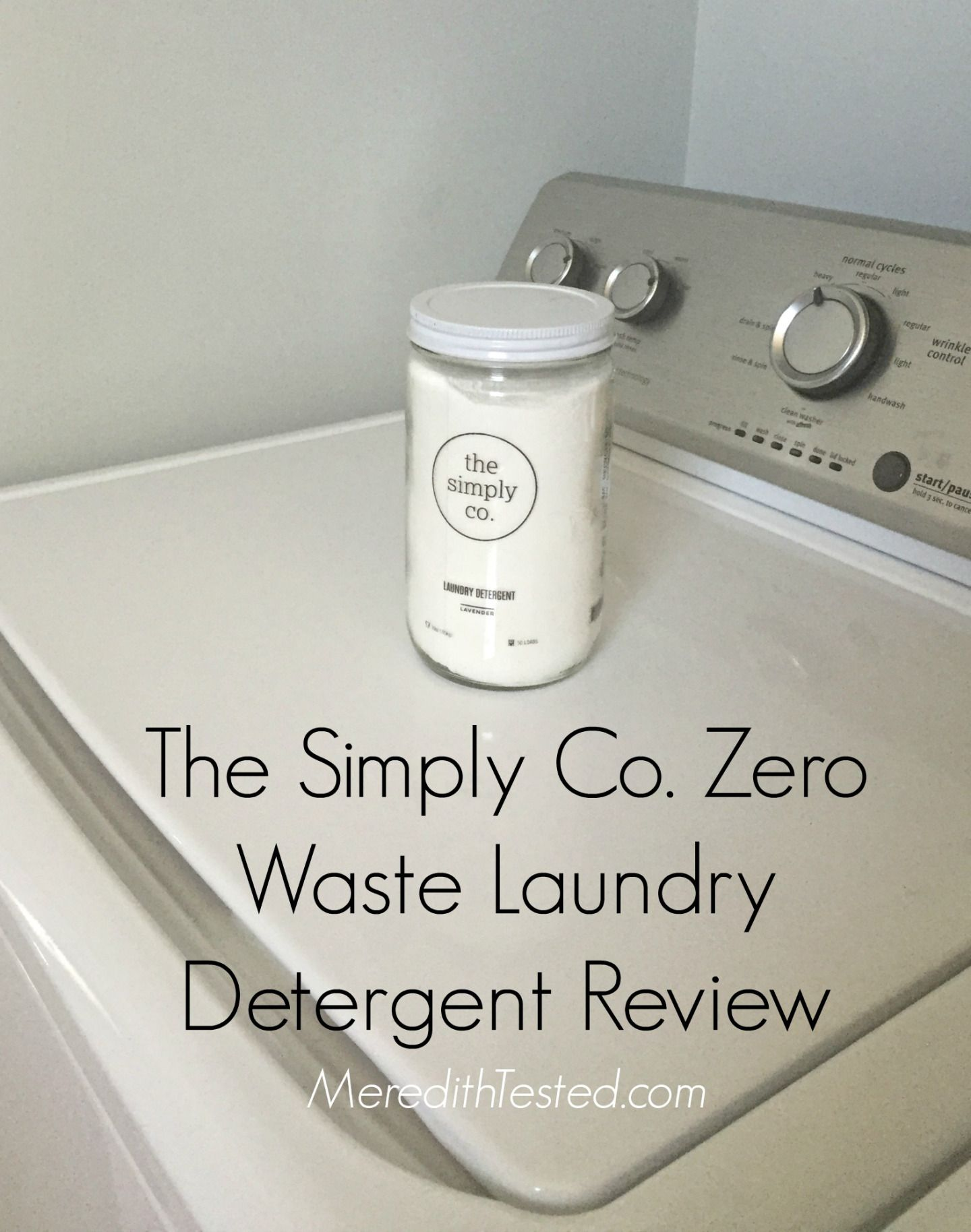 The Simply Co Zero Waste Laundry Detergent Review Laundry