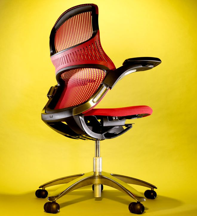 Review: Knoll Generation Chair | Ergonomic office chair, Work ...