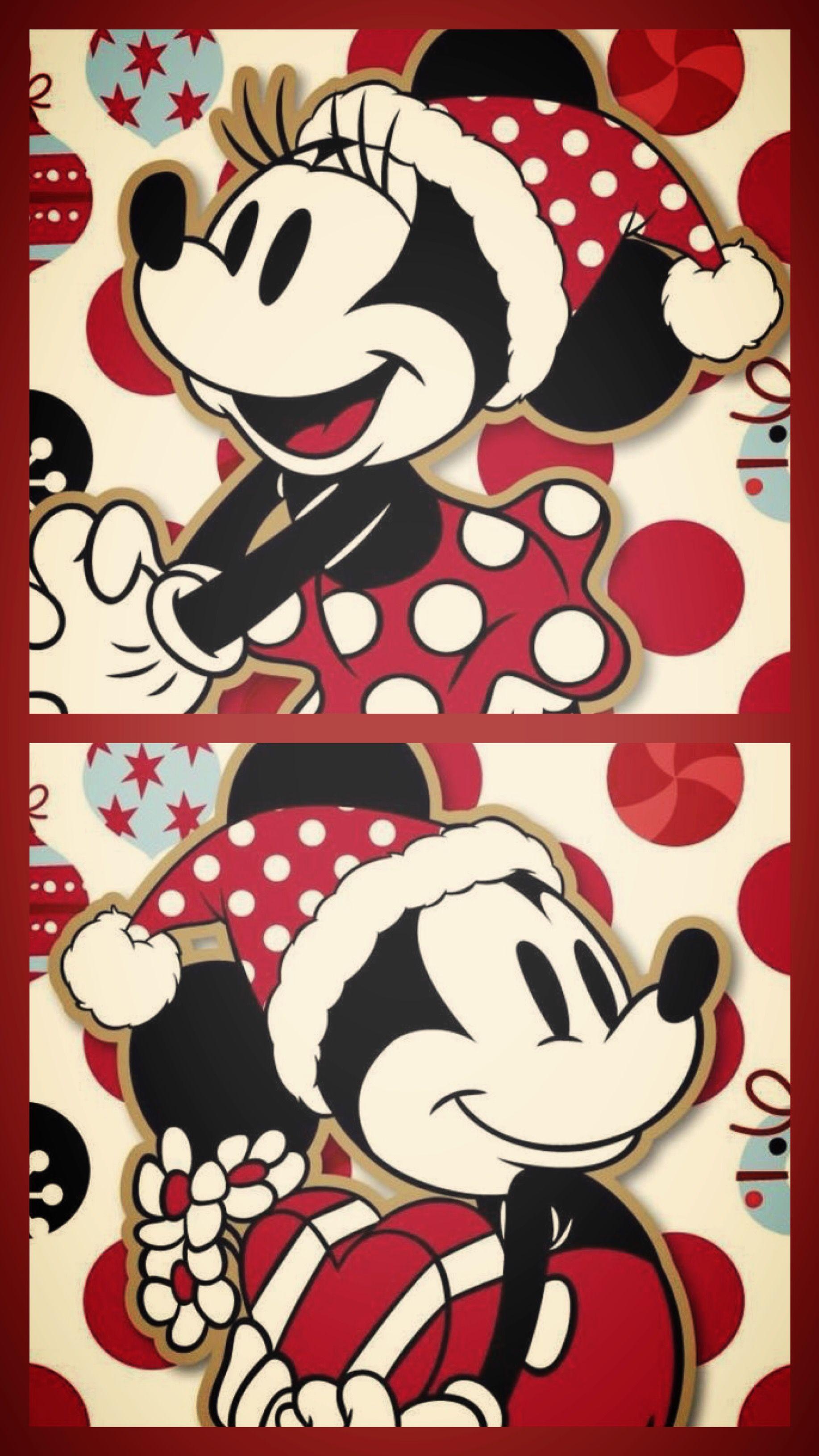 Mickey Minnie Christmas Wallpaper Wallpaper Iphone Christmas Wallpaper Iphone Disney Mickey Mouse Wallpaper