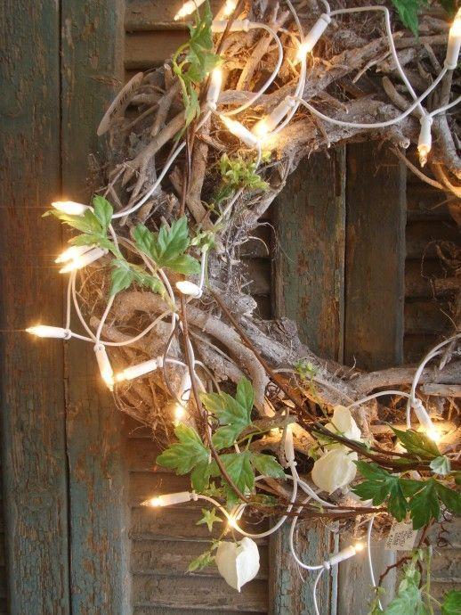 Décorer sa porte d\u0027entrée pour Noël navid Pinterest Exterior
