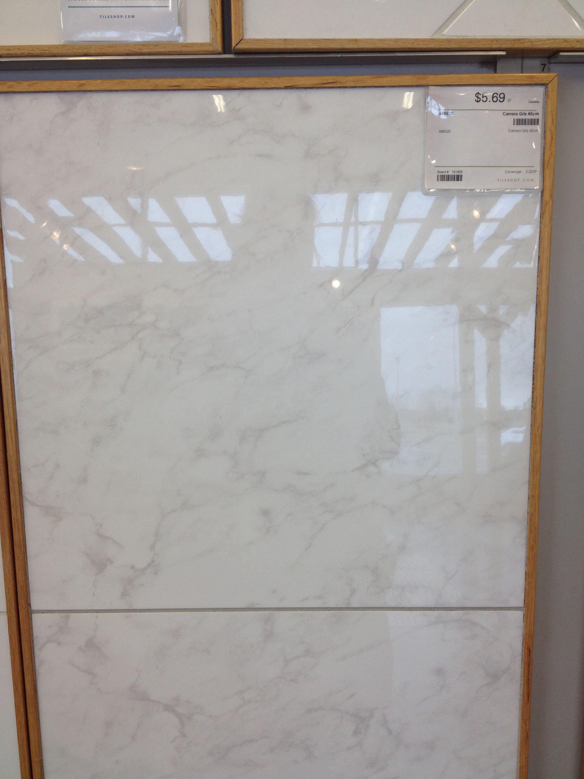 Carrara Gris Floor Tile Sf This Is What I Want For Bathroom - Carrara gris porcelain tile