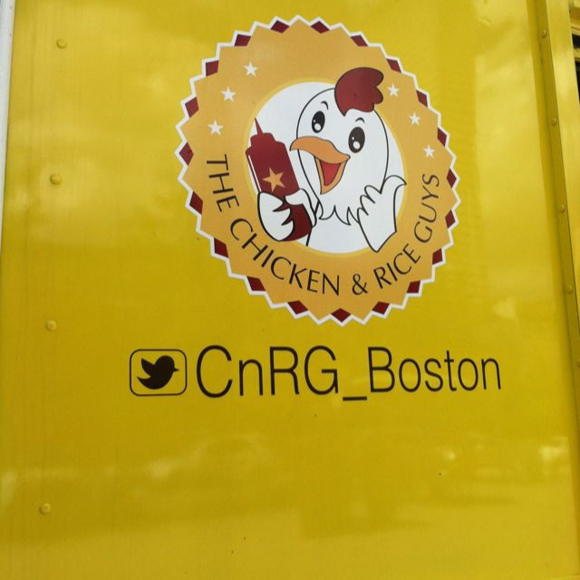 The Chicken Rice Guys Food Truck In Boston They Went To Nyc And