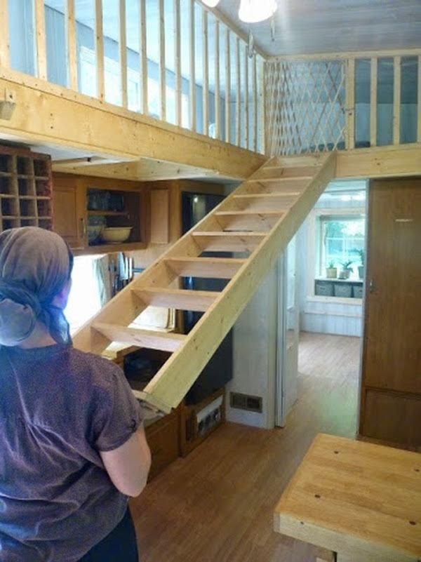 Loft Ladder Tiny House Google Search Loft Stairs