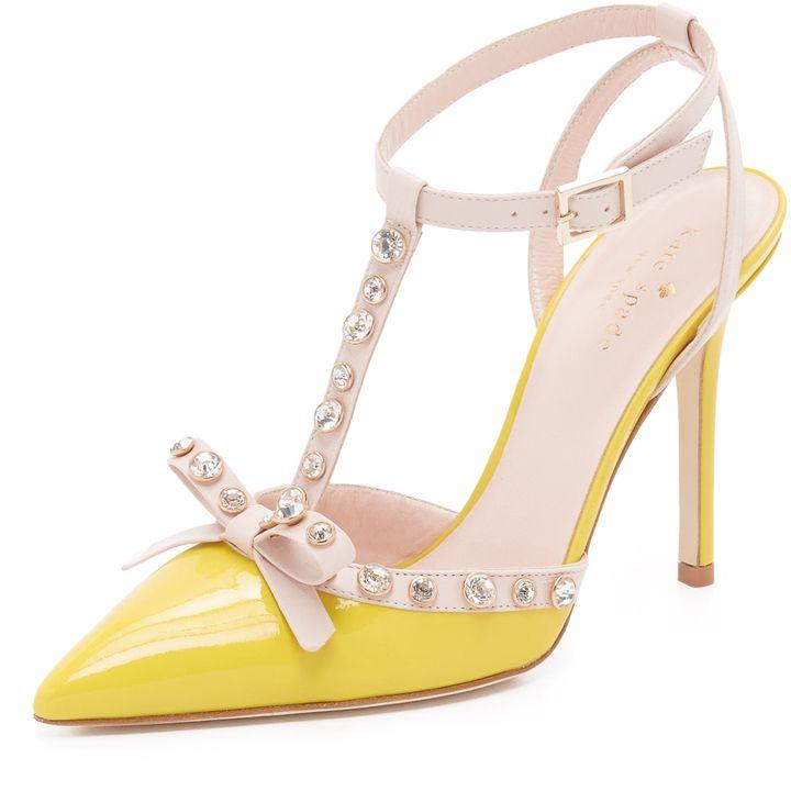 07e736a3cffe Kate Spade New York Lydia Pumps Lemon  yellow  katespade