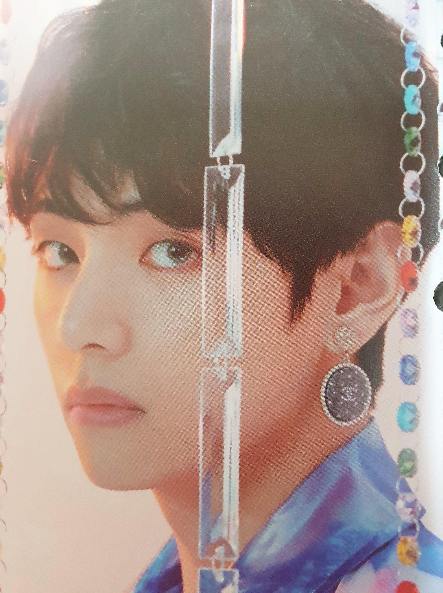 Bts Season S Greeting 2020 V Taehyung Bts Earrings Kim Taehyung