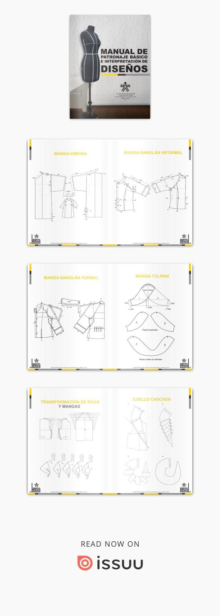 Manual patronaje Tgo en diseño para la industria de la moda Garzon ...