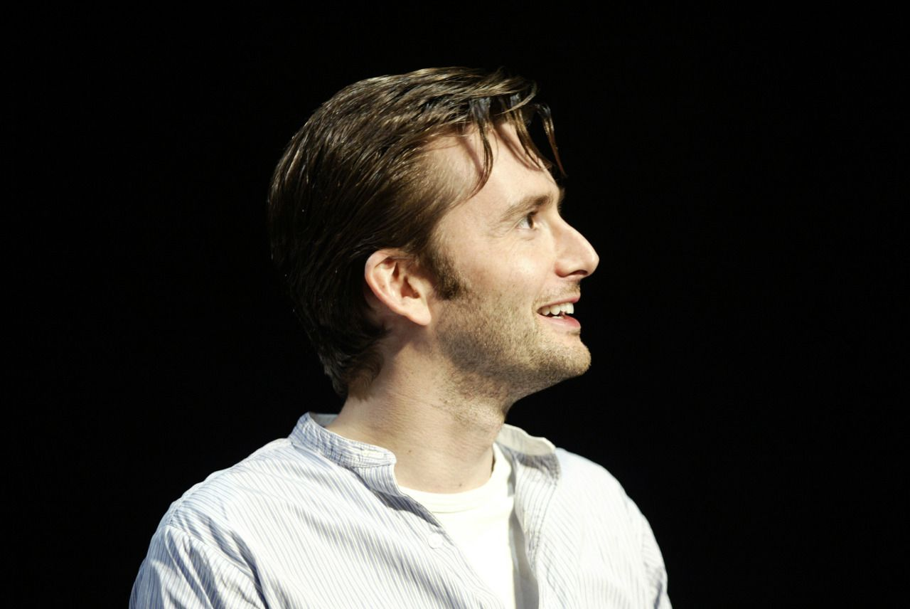 David Tennant in a production of Pillowman.