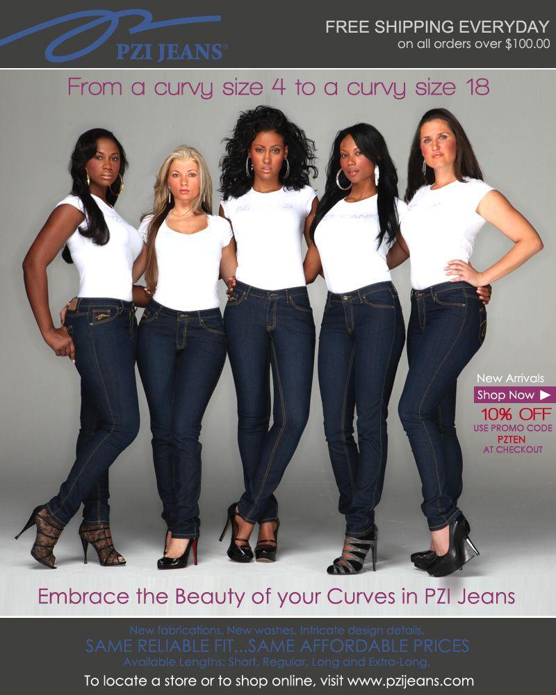 PZI Jeans Web Banner-Revised | Fashion 5 | Pinterest | Girls ...