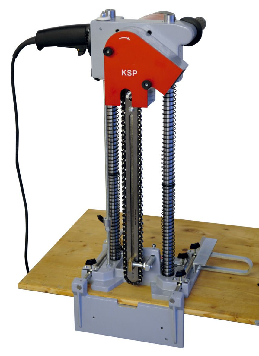 swisspro chain slotter from timber frame tools