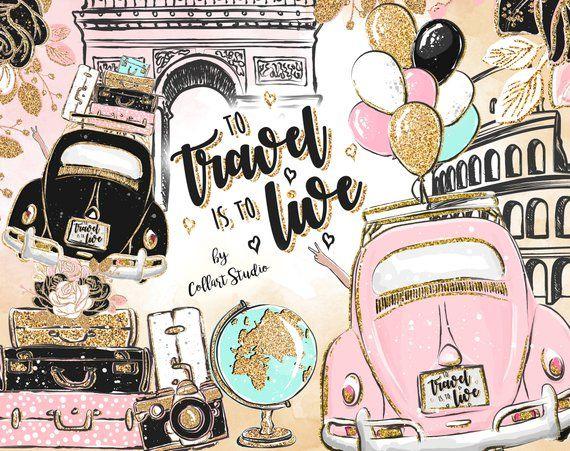Adventure Travel Clipart - Lizenzfrei - GoGraph