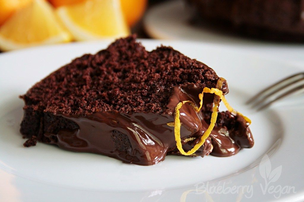 Schoko Orangen Kuchen Rezept Lecker Leckere Vegane Rezepte Lebensmittel Essen
