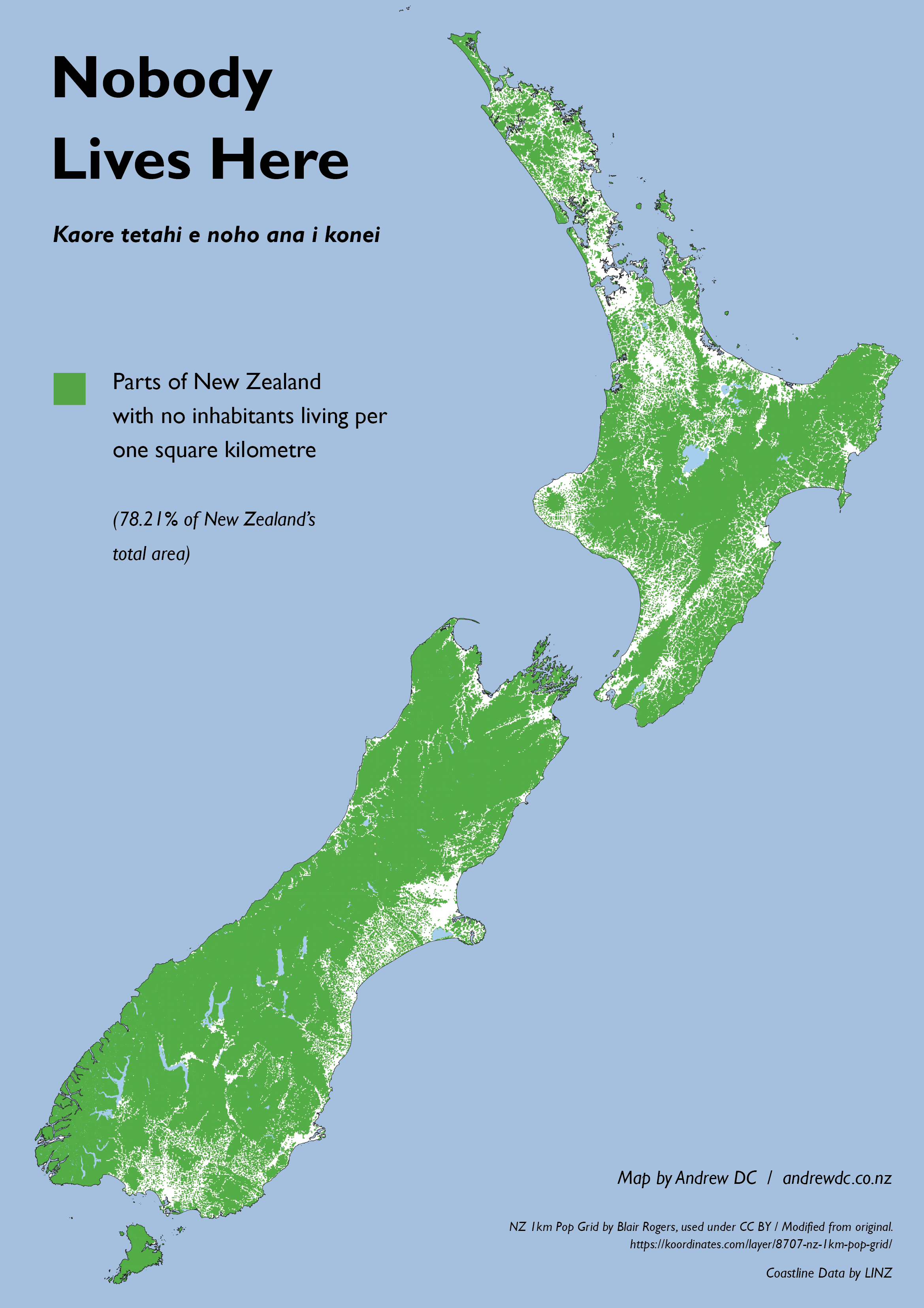 Map Of Australia Nz.Nobody Lives Here Uninhabited Areas Of New Zealand Maps And Info