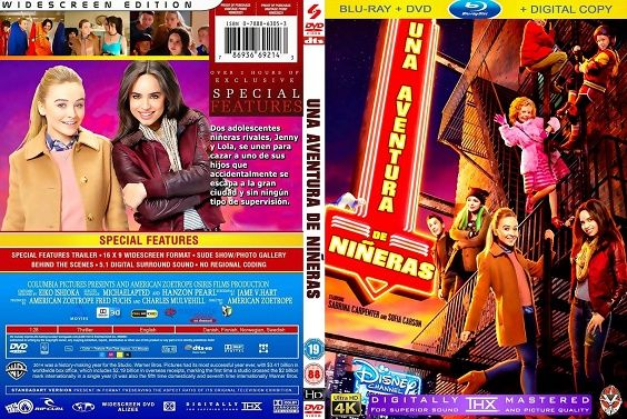 Adventures In Babysitting Movies Covers Sabrina