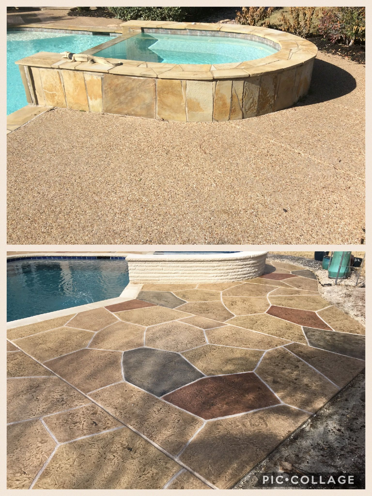 Before After Renovations Swimming Pools Company Pool