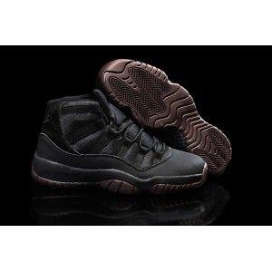 Big Discount 66 OFF Air Jordans 11 Matte Custom All Black Shoes For Sale Online