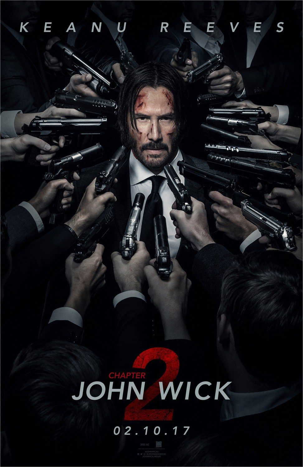 John Wick Chapter 2 Poster 2 India Release John Wick 2 Movie Watch John Wick Free Movies Online