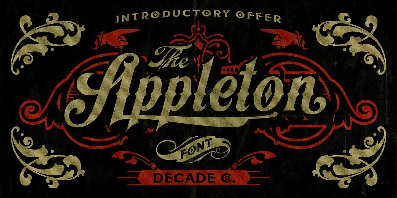 Appleton - Webfont & Desktop font « MyFonts