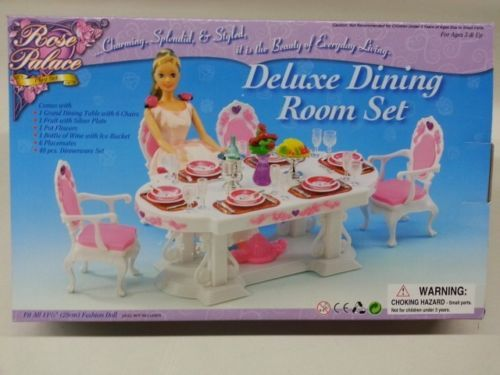 2609 Gloria,Barbie Size Doll  Furniture// Rose Palace Dressing room /& Mirror