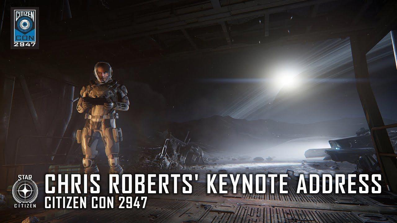 STAR CITIZEN Video: CitizenCon 2947 - Chris Roberts' Keynote Address #starcitizen #gaming #MMO #MMORPG #videos #MmoGamesCharacterDesign