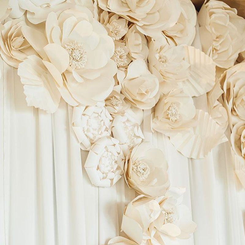 Paper Flowers Can Be Used In Your Wedding Bouquet
